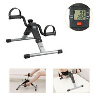 LCD Body Mini Exercise Bike Arm Leg Cycle Pedal Fitness Exerciser For Home GYM