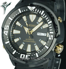 New SEIKO PROSPEX TUNA MONSTER WITH RUBBER DIVERS BUCKLE STRAP SRP641K1