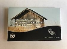 2015-s SILVER. U.S. Mint made America the Beautiful  QUARTERS  proof Set