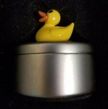Rubber Ducky Trinket Box Baby Decor Metal Box Nursery Tooth Fairy Teeth Storage
