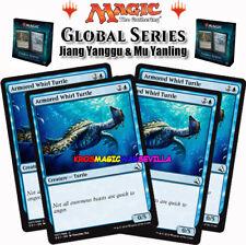 MTG 4 X Armored Whirl Turtle ENGLISH GLOBAL SERIES JIANG YANGGU & MU YANLING