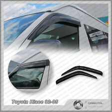 Premium Weather Shields Weathershields Window Visors for Toyota Hiace 92-05