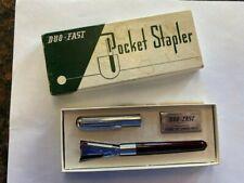 "Vintage pocket stapler ""Gopher Glass Company"". Minnesota 1950's"