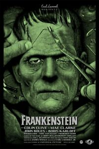 Frankenstein Elvisdead Regular Edition Mondo  xx/175 universal monsters