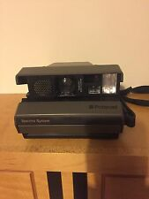 Spectra Polaroid Camera With Carry Case and Instruction Manual