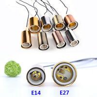 E27E14 vis en céramique  base ronde ampoule LED lampe douille porte adaptateu PM