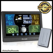 Weather Station Wireless Indoor Outdoor Weather Forecast Thermometer Hygrometer