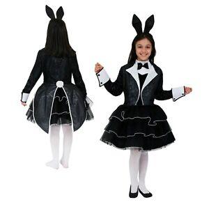 Costume Coniglietta nera Bambina Vestito Carnevale Pegasus