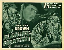 Flaming Frontiers  - Cliffhanger Serial Movie DVD Johnny Mack Brown