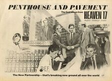 26/9/81PN36 POSTER ADVERT 15X11 HEAVEN 17 : PENTHOUSE AND PAVEMENT