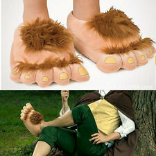 Halfling Furry Adventure Adult Slippers By Think Geek - One Size Fits Most 8016