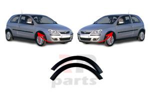 Per Opel Vauxhall Corsa C 2000-2003 SPOILER INFERIORE PARAURTI ANTERIORE COPPIA Set