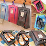 Portable Travel Shoes Storage Outdoor Tote Pouch Zip Waterproof Bag Organizer #W