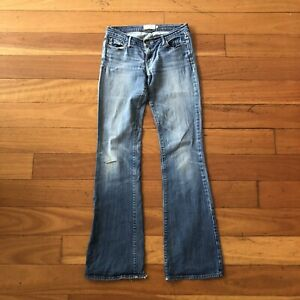 Abercrombie And Fitch Womens Jeans Stretch Madison Size 4L Free Postage Aus