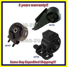 Fits: 98-01 Kia Sephia / 00-04 Spectra 1.8L Engine Motor Mount Set 3PCS for Auto