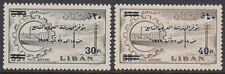 Libano Lebanon 1959 ** mi.637/38 ingegneri Engineers Congresso Congress