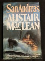 San Andreas by Alistair MacLean, 1st Edition hardcover with dustjacket, 1984