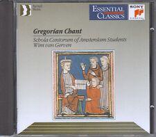 Gregorian Chant CD WIM VAN GERVEN /  WIE NEU
