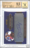BUSTER POSEY 2008 Razor Metal Blue AUTO rookie BGS 9.5 GEM MINT 50 ONLY chrome!
