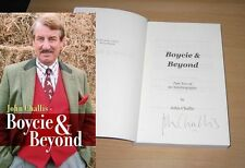 John Challis Boycie & Beyond Book SIGNED Only Fools and Horses Vol 2