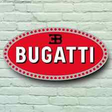 BUGATTI LOGO 2FT LARGE GARAGE SIGN WALL PLAQUE CLASSIC SPORT CAR SUPERCAR VEYRON