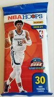 ✅🏀🔥2020-2021 Panini NBA HOOPS Basketball 30 Card Cello-New Sealed