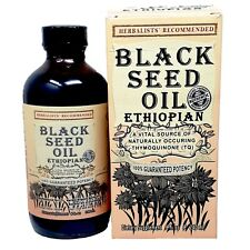 100% PURE ETHIOPIAN BLACK SEED COLD-PRESSED EXTRA POTENT OIL  8 oz.