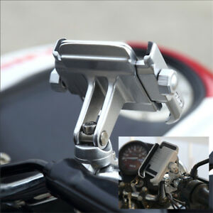 360°Motorcycle Bicycle Bike Handlebar Mount Holder For GPS Mobile Cell Phone