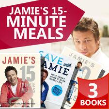 Jamie Oliver Colletion, 3 Books Set ( Jamie's 30-Minute Meals, Save with Jamie )