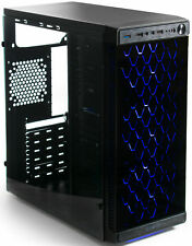 VIVO ATX Mid Tower Computer Gaming PC Case w/ Glass Window, 4 Fan Ports, USB 3.0