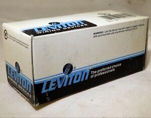 Leviton Ivory Decora ON/OFF Rocker Light Wall Switch 15A 1-Pole 5601-2I