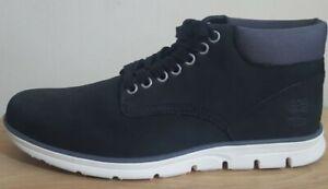 Mens Timberland UK Size 8 Bradstreet Chukka Boot My Nubuck Black