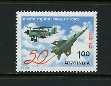 R446  India 1982  aviation Air Force  MIG-25  1v.  MNH