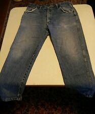 007 Mens Wrangler Outdoor Comfort  Rugged Wear Denim Jeans 40x30