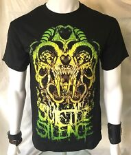 SUICIDE SILENCE Official T-Shirt(S)Original New Genuine Merch Deathcore 37I