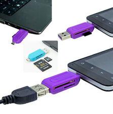Micro USB OTG TF Micro SD Card Reader 2 in 1 Micro SD Card Samsung Galaxy S6 S4
