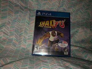 Shaq Fu: A Legend Reborn (Playstation 4) Brand New