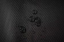 "1.9 OZ Ripstop Hammock Diamond Fabric Jet Black Outdoor Coated Waterproof 60""W"