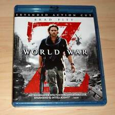 Blu Ray Film - World War Z - Extended Action Cut - Brad Pitt (Zombie)