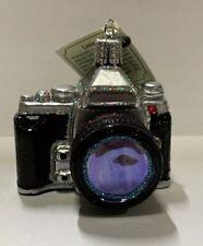 "Old World Christmas ""Camera"" Ornament-GLASS"