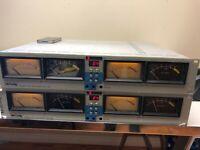 2 units x McCurdy Audio VU meter bridge  ATS-100 good working order tested video