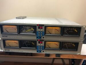 1 x McCurdy Audio VU meter bridge  ATS-100 good working order tested video