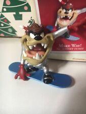 Taz Make Way! Christmas Hallmark Keepsake Looney Tunes Ornament In Box