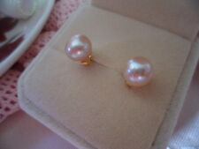 Vintage Jewellery Pearl Gold Earrings Ear Rings with Pearls Antique Jewelry