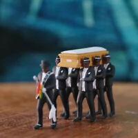 Cosplay Ghana Funeral Dancing Team Pallbearers Coffin Dance Figure Action PVC