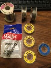 Miscellaneous Lot of Solder & Supplies