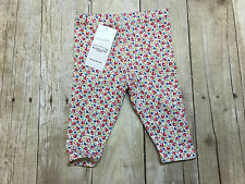 RALPH LAUREN POLO PINK FLORAL FLOWERS PANTS GIRLS SIZE 6 MONTHS NEW WITH TAGS