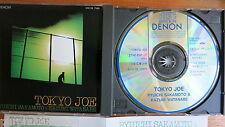 Ryuichi sakamoto & Kazumi watanabe – tokyo Joe Japon CD DENON + lyrics sheet