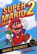 Super Mario Bros 2 -- Nintendo NES Original Game CLEAN TESTED GUARANTEED