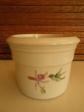 Zanesville Stoneware Pottery Planter Pot, Hummingbird Design